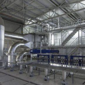 Výstavba energocentra